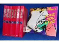 IL ROCK LA MUSICA GLI ARTISTI I SEGRETI 7 VOLUMI 1990
