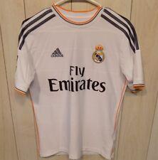 9b5024eb440 Adidas Climacool Fly Emirates Real Madrid Ronaldo Boy s Soccer Jersey L  White