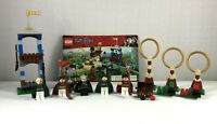 Lego Harry Potter Set 4737 Quidditch Match Complete with 5 Minifigs