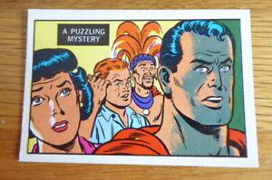 A&BC GUM CARD SUPERMAN IN THE JUNGLE #65 1968