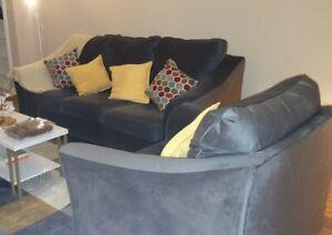 Ashley's Sofa and armchair - $550 (Houston)