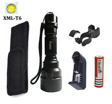 ultrafire C8 2500lm xmlT6 linternas 5Models flashlight LED torch lanterna tatica