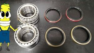 Front Wheel Bearing (with Races) and Seal Set for Oldsmobile Toronado 1969-1978