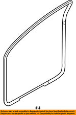 FORD OEM 09-14 F-150 FRONT DOOR-Weather Strip On Body Left BL3Z1520709B