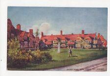 Cottage Homes Bath Street Port Sunlight Vintage Postcard  209a
