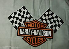 Harley Davidson  fabric panel  18x23