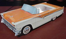 12 ~ Classic Ford Cardboard Cars Kids Diner Paper Food Tray  Party Favor Gift