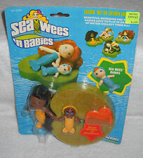 #7677 NRFC Vintage Kenner Sea Wees Stormy & Baby Bubbles African American Dolls