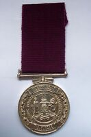 South Africa African Cape Town Traffic Police Long Service Silver Marked Medal