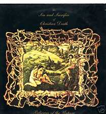 "CHRISTIAN DEATH ""SIN & SACRIFICE"" ORIG UK MINI LP 1986"