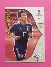 ADRENALYN XL CARD WC RUSSIA 2018 - N.196 HASEBE JAPAN GIAPPONE