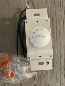 Hunter Ceiling Fan Wall Control Rotary Switch 3-Speeds