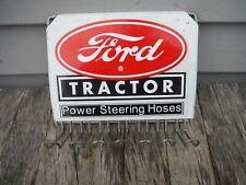 Vintage Ford Tractor Power Steering Hoses Display Rack Sign Neat Nr!