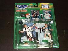 1998 STARTING LINEUP JOHN ELWAY DAN MARINO CLASSIC DOUBLE FOOTBALL FIGURES
