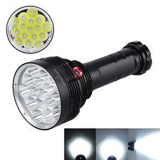3Modes SKYRAY 40000LM 16X XML T6 LED Taschenlampe Lampen Fackel Licht 18650