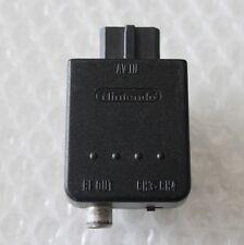Super Nintendo 64 RFU Modulator Adapter GameCube SNES OEM Official AV TV N64 RF