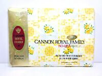 Cannon Royal Family Full Flat Sheet Cambridge Floral Vintage NOS