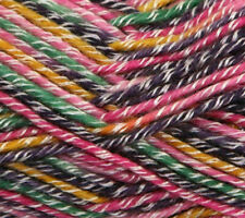 500g Sirdar Folksong Chunky Yarn Shade 377 Pixie BOOTS 51 Wool Colourful