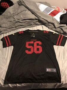 SanFrancisco 49ers Kwon Alexander Stitched Black Replica Jersey 2XL