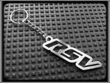 Keyring for APRILIA RSV MILLE R - Stainless Steel, Hand Made, Chain Loop Key Fob