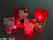 2012 Hello Kitty Light Up Sweet Love McDonald's Happy Meal Toy Complete Set of 4