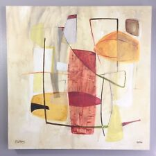 Jane Bellows Signed and Numbered Canvas Abstract Print