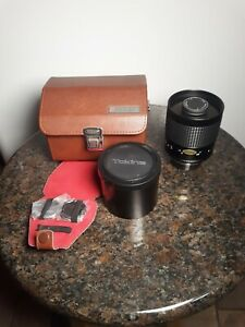 VINTAGE RMC TOKINA 500mm 1:8 CAMERA LENS WITH CASE