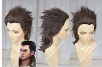 Final Fantasy 15 FF15 Gladiolus Amicitia Anime Costume Cosplay Wig +CAP +TRACK
