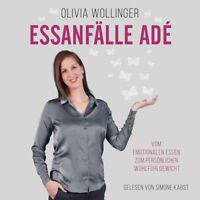 SIMONE KABST - OLIVIA WOLLINGER: ESSANFÄLLE ADE HÖRBUCH HAMBURG 2 CD NEW