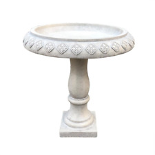 New listing 22.8 in. Dia Weathered Concrete Lightweight Traditional Textured Flower Diamond