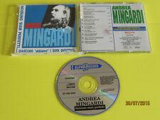 ANDREA MINGARDI-NESSUNO SIAM PERFETTI -ALPHA RECORD CD AR 7087 NM/NM 1993 T.SIAE