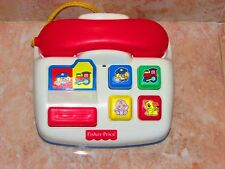 Fisher Price / Mattel Ringing Telephone With Sounds