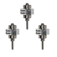 3 pcs Dental Rotor Cartridge Turbine for LED E-generator Handpiece YBM/YBB YBT