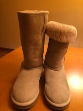 "womens warm winter boots size 9W sheepskin upper Sheepskin insock,h13.5"",New"