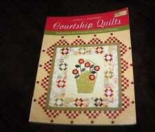 Courtship Quilts Inspired by Victorian Language  Flowers patterns Janna Sheppard