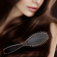 1Pc Anti-Static Professional Steel Comb Brush For Wig Hair Extensions TrainiDDAU