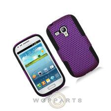 Samsung Galaxy S3 Mini Hybrid Mesh Case - Purple