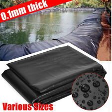 Large Sizes Pond Liner Pool Durable HDPE Fish Guarantee Suit All Weather Garden