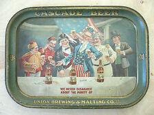 """Cascade Beer"", Union Brewing & Malting Co., San Francisco / c.1910"