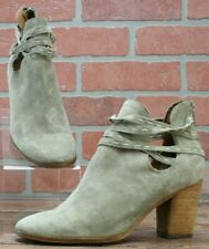 Frye Naomi Pickstitch Shootie Women's Ankle Booties In Ash Size 7 B