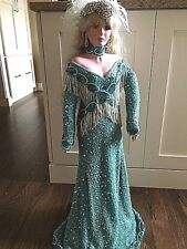 """RUSTIE PORCELAIN DOLL 34"""" Private Edition ONE OF A KIND 2008 #1 Gorgeous"""