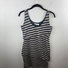 Synergy Organic Clothing Size S Small Layered Tank Dress Striped Organic Cotton