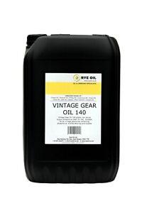 VINTAGE CLASSIC GEAR OIL 140 25 LITRE 25L