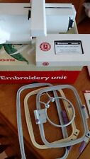 Viking Rose Embroidery Unit +8 Design cards. Great Condition. Gently used.