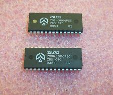 QTY (4)  Z0843006PSC ZILOG Z80 CTC 24 PIN DIP  REFURBISHED SOCKET PULLS