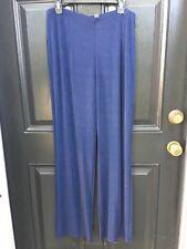 New Rare! Chico's Travelers Midnight Navy Blue No Tummy Pant 3 Tall XL 16 18 NWT
