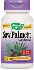Saw Palmetto Standardized - 60 Softgels - Nature's Way