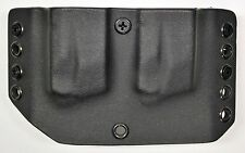 Smith & Wesson M&P 9mm/.40 Custom Kydex Double Magazine Holster Black
