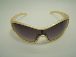 Ryders Oasis Cycling Sunglasses Gold Frames gray Lenses w/ Bag R376-003 410553