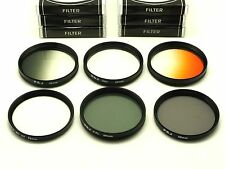 58mm CPL, Star, UV, ND4, Grey, Orange, Filters For Canon Nikon Tamron DSLR Lens